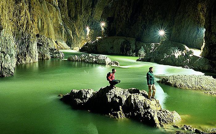 Шкоцянские пещеры, Словения