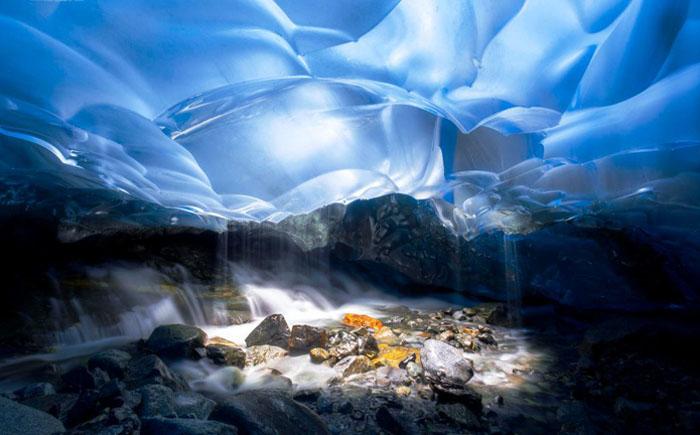 Ледниковая пещера Менденхол, США