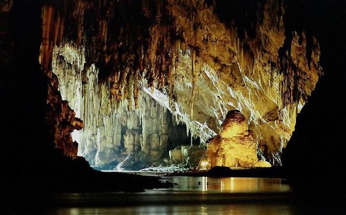 Пещера Тхам Лод, Таиланд