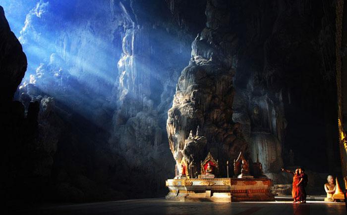 Пещера  Кяук Се, Мьянма