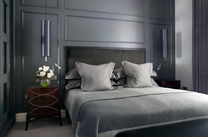 Интерьер спальни от Alexandra Dixon Interiors