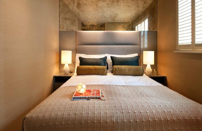 Интерьер спальни от Zephyr Interiors