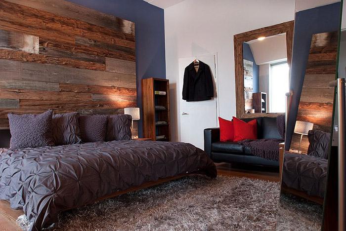 Стильная спальня от Groundswell Design Group