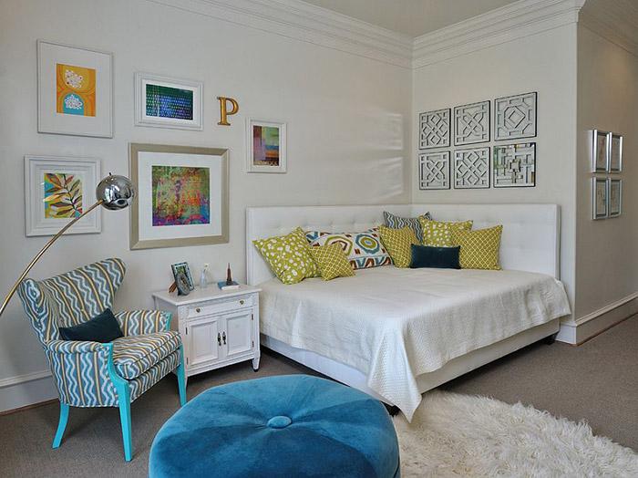 Изголовье на 2 стены от Carla Aston Interior Design