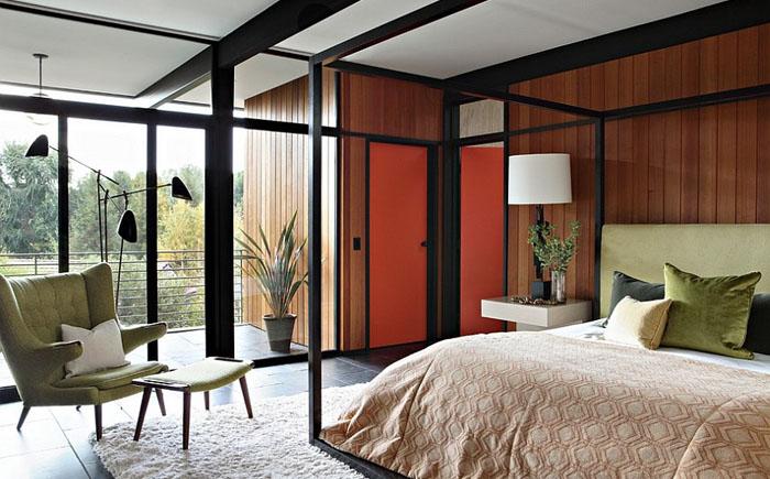 Модные спальни дизайн