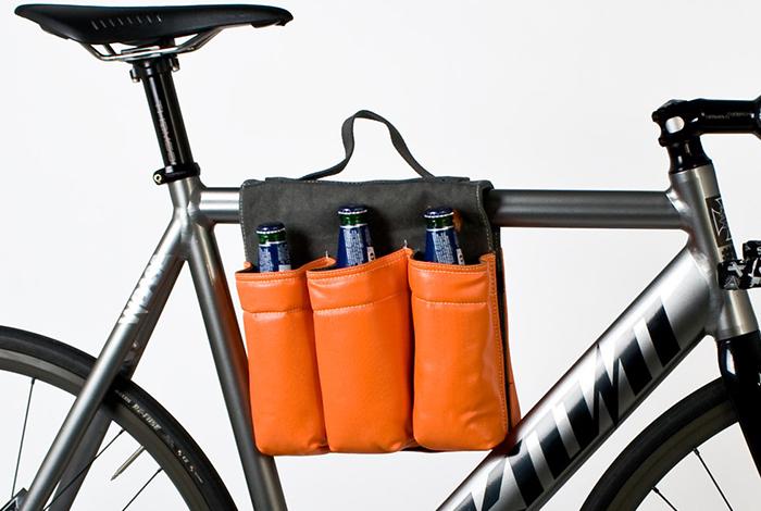 Велосипедная сумка для пива