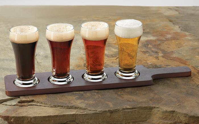 Набор для пива из 5 бокалов емкостью 0,2 л
