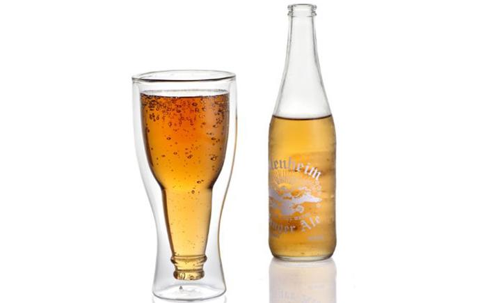 Набор из 2 предметов – бутылка и бокал