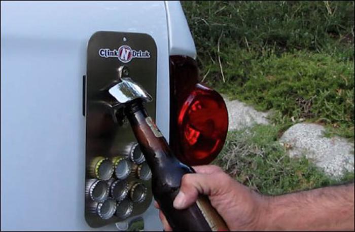 Приспособление для открывания пивных бутылок