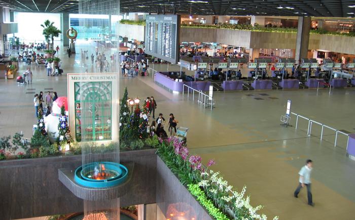Сингапурский международный аэропорт Шанги