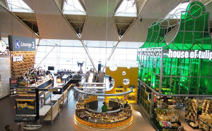Аэропорт Схипхол, Амстердам