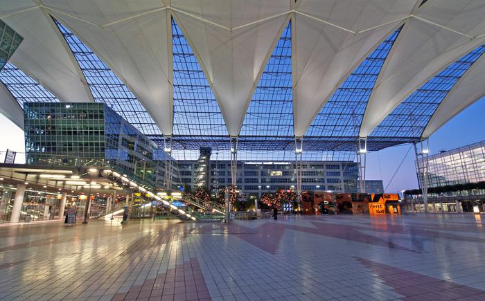 Международный аэропорт в Мюнхене