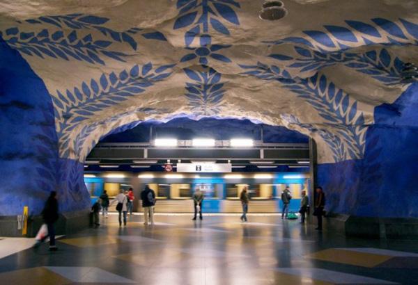 Станция T-Centralen (Стокгольм, Швеция)