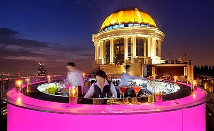Бар Sirocco, Бангкок