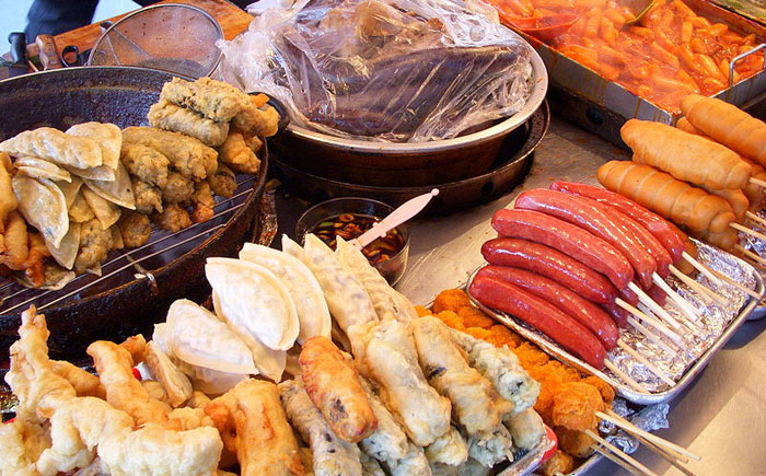 10 примеров самой вкусной уличной еды в мире