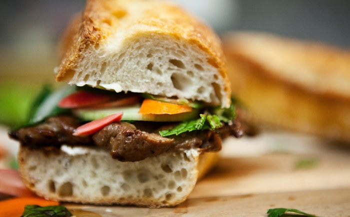 Сэндвичи из французского батона