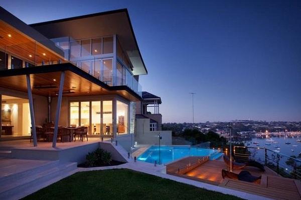 Перте австралия от студии ritz exterior design
