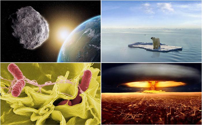 10 самых серьёзных угроз для человечества, которые могут привести к его гибели