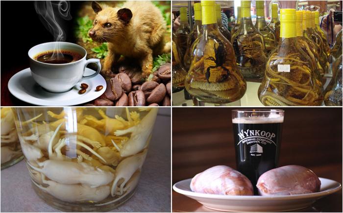 15 самых странных напитков в мире, об ингредиентах которых лучше ничего не знать