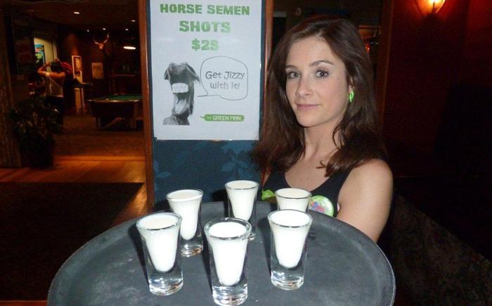 Напиток «Лошадиный спермосидр»