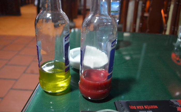 Напиток на основе змеиной крови и желчи