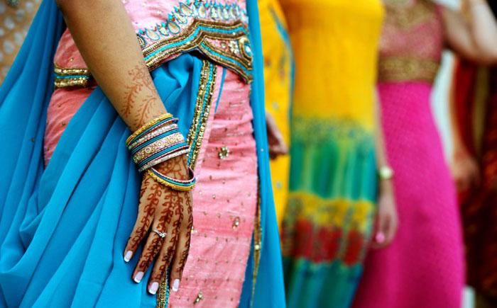 Разноцветные наряды