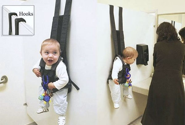 Наддверный крючок-рюкзак для ребенка