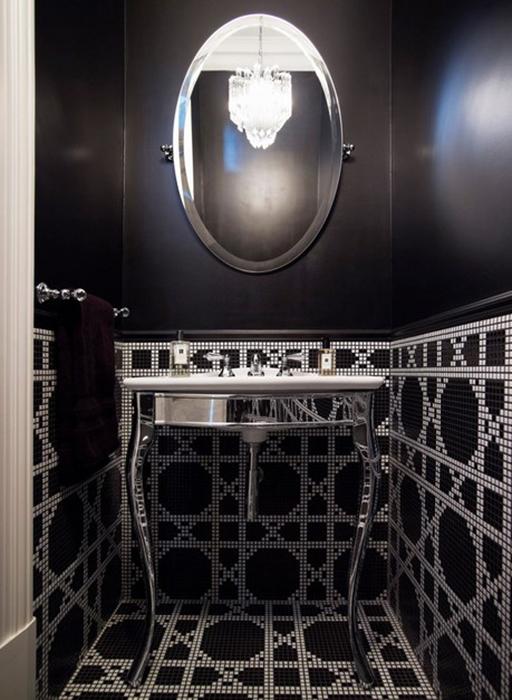 Интерьер ванной от T01 Architecture & Interiors