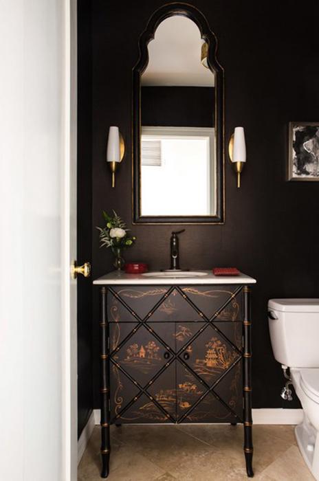 Интерьер ванной от Charmean Neithart Interiors