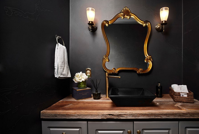 Интерьер ванной от LUX Design