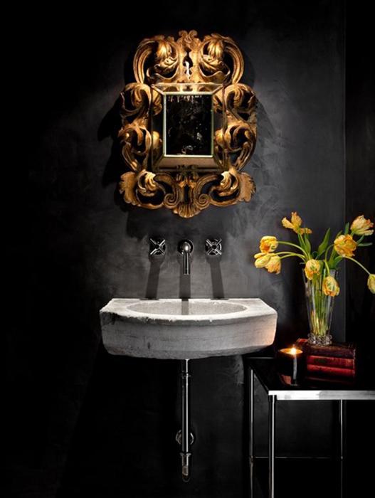 Интерьер ванной от Orange Coast Interior Design