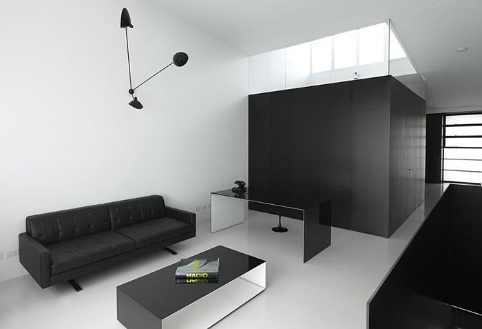 Интерьер домашнего офиса от Ian Moore Architects