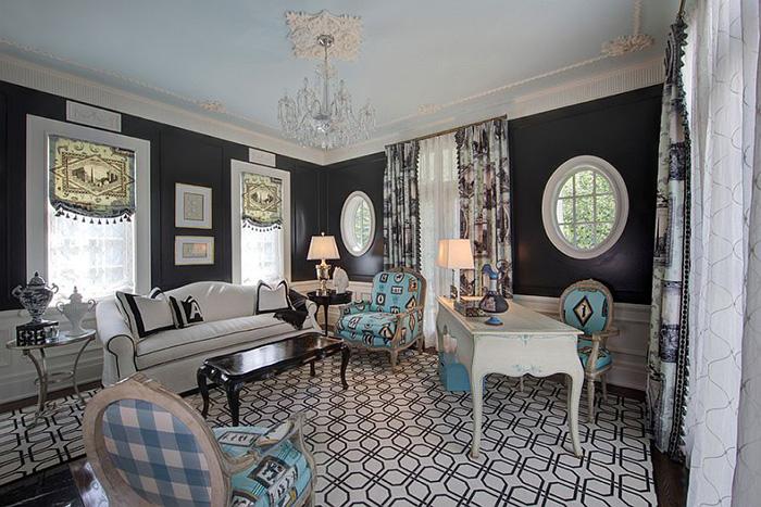 Интерьер домашнего офиса от W Design Interiors