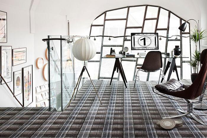 Интерьер домашнего офиса от Flock-Living