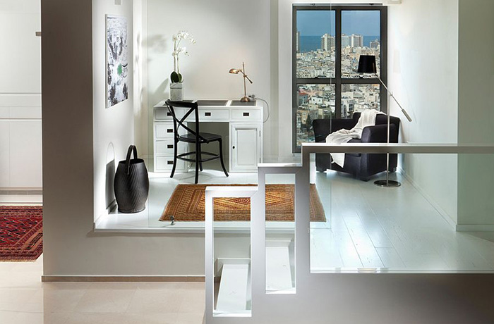 Домашний офис изолирован от жилой зоны