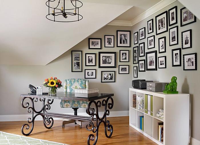 Интерьер домашнего офиса от Kandrac and Kole Interior Designs