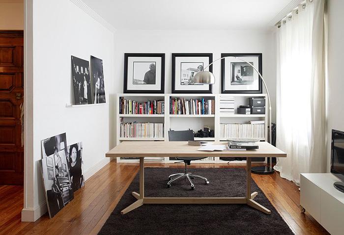 Интерьер домашнего офиса от Alki