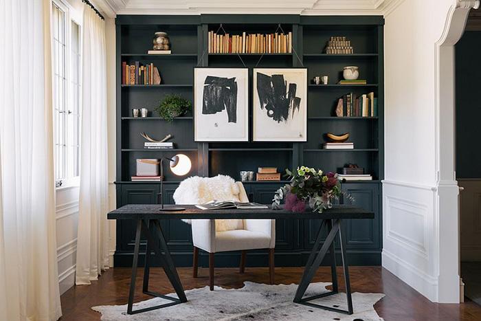 Интерьер домашнего офиса от Authenticity B. Designs