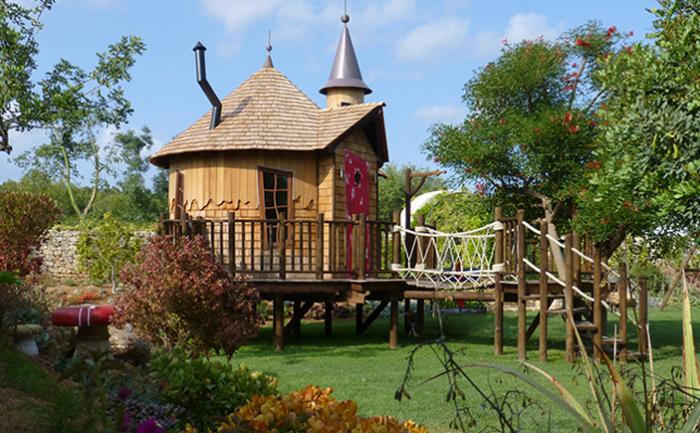 Дом  «Алиса в стране чудес»