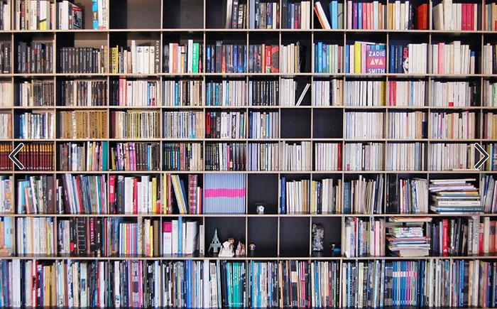 Как спрятать спальню за книгами, оригинальное решение от японских дизайнеров
