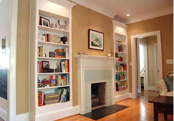 Книжные полки для всей семьи