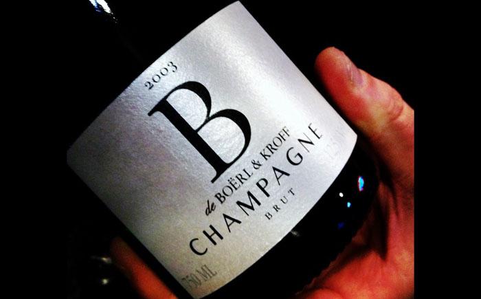 Шампанское брют от «Боёрл и Крофф»