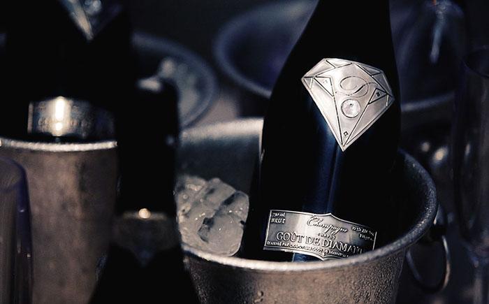 Шампанское «Вкус алмазов»