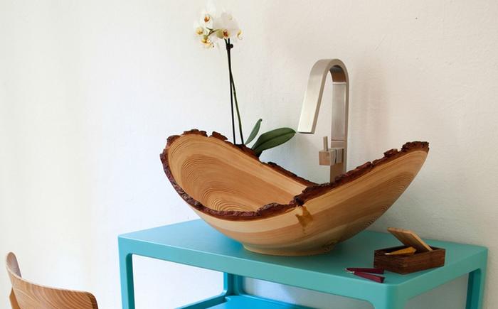 10 стильных умывальников для ванной комнаты от современных дизайнеров