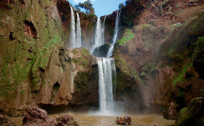 Водопад Узуд (Марокко)