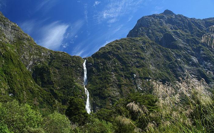 Водопад Сатерленд (Новая Зеландия)