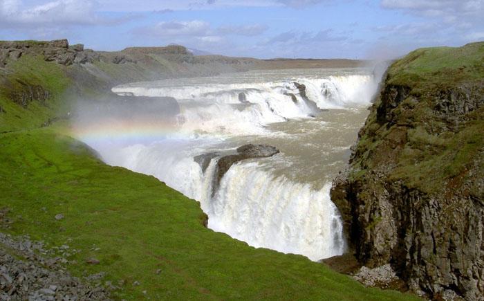 Водопад Гульфосс (Исландия)