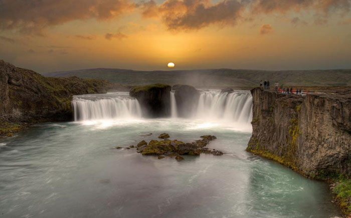 Водопад Деттифосс (Исландия)