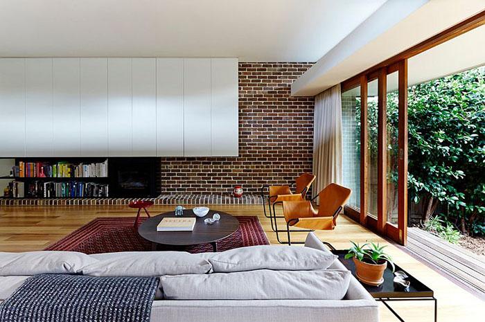 Интерьер гостиной от Downie North Architects