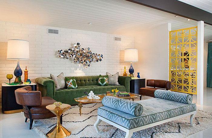Интерьер гостиной от Joel Dessaules Design